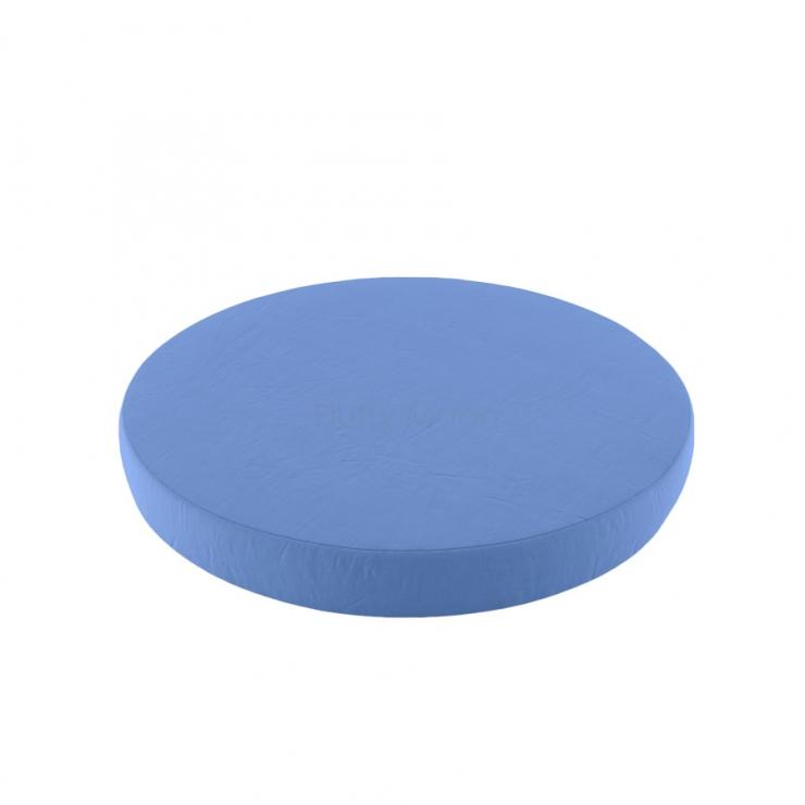 Простыня на круглую кроватку (цвет: голубой)