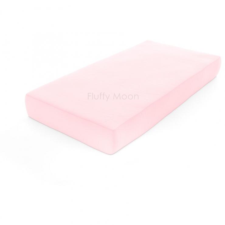Простыня на резинке (Цвет: светло-розовый)