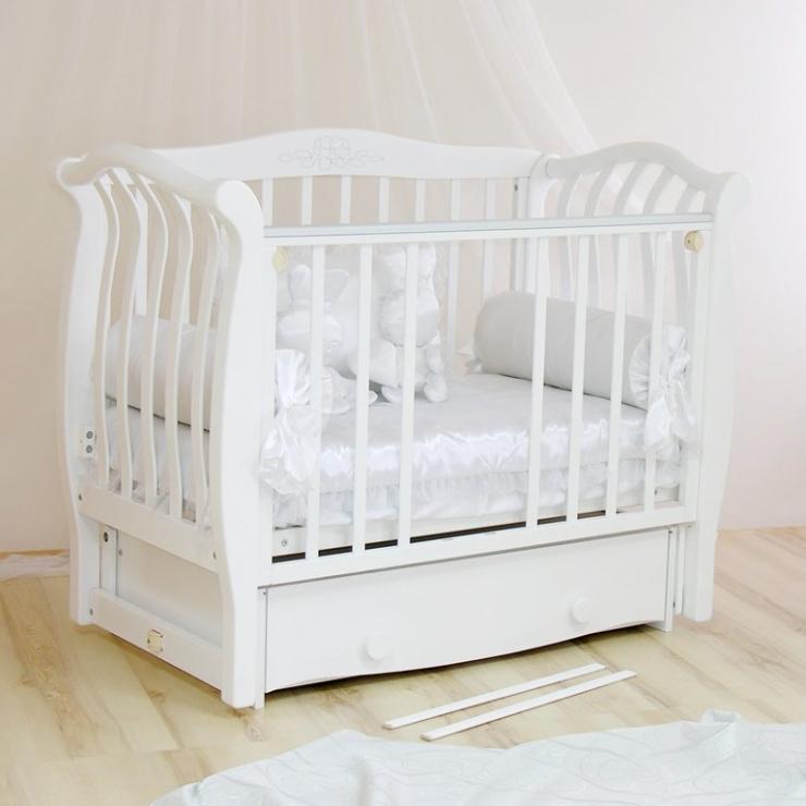 Детская кроватка Аэлита С888 (3 цвета )