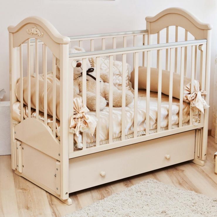 Детская кроватка Ефросинья С554 (2 цвета )