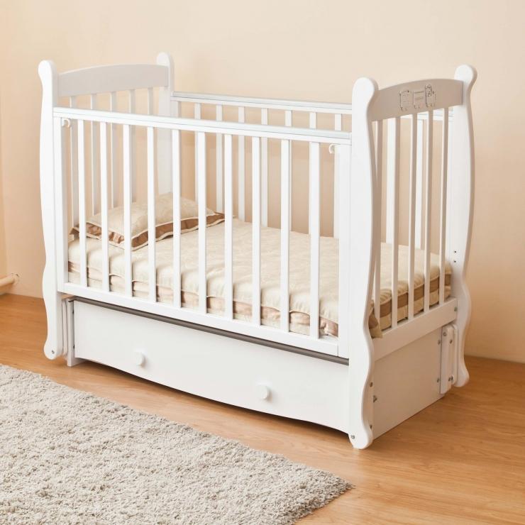 Детская кроватка Елисей С717 (4 цвета)
