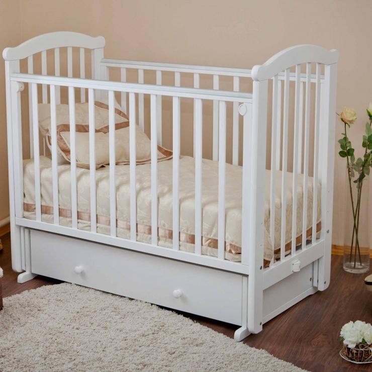 Детская кроватка Ирина С625 (3 цвета)