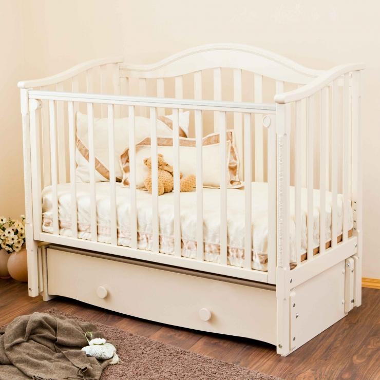 Детская кроватка Леонардо С770 (3 цвета )