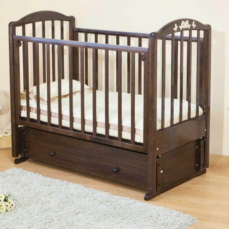 Детская кроватка Регина С580 (4 цвета)