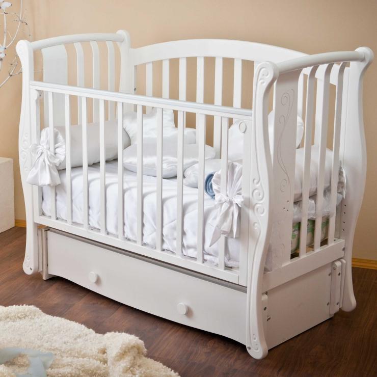 Детская кроватка Ярослава С551 (4 цвета)