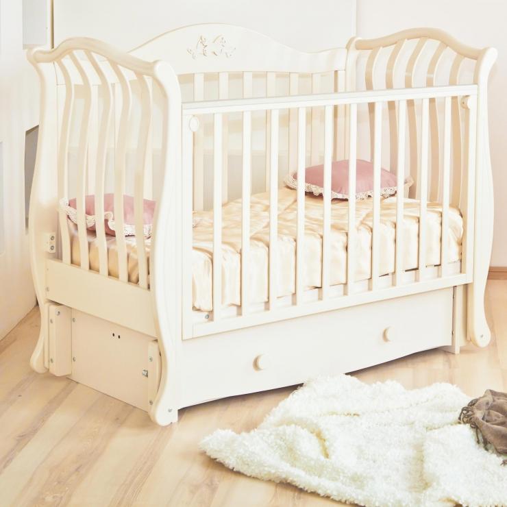 Детская кроватка Юлиана С757 ( 4 цвета )