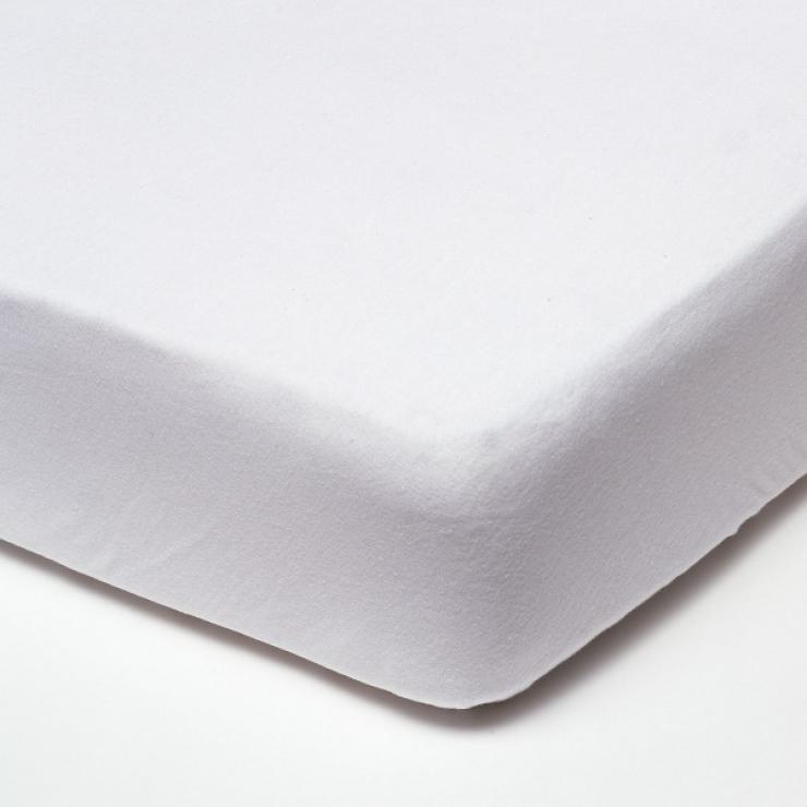 Наматрасник натяжной непромокаемый (цвет: белый)